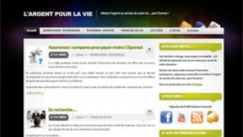 """Blog """"L'argent pour la vie"""""""