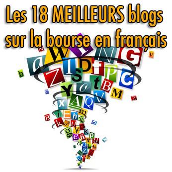 Les 18 MEILLEURS blogs sur la bourse en français