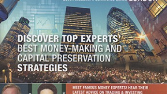 Le salon World MoneyShow à Londres (2014)