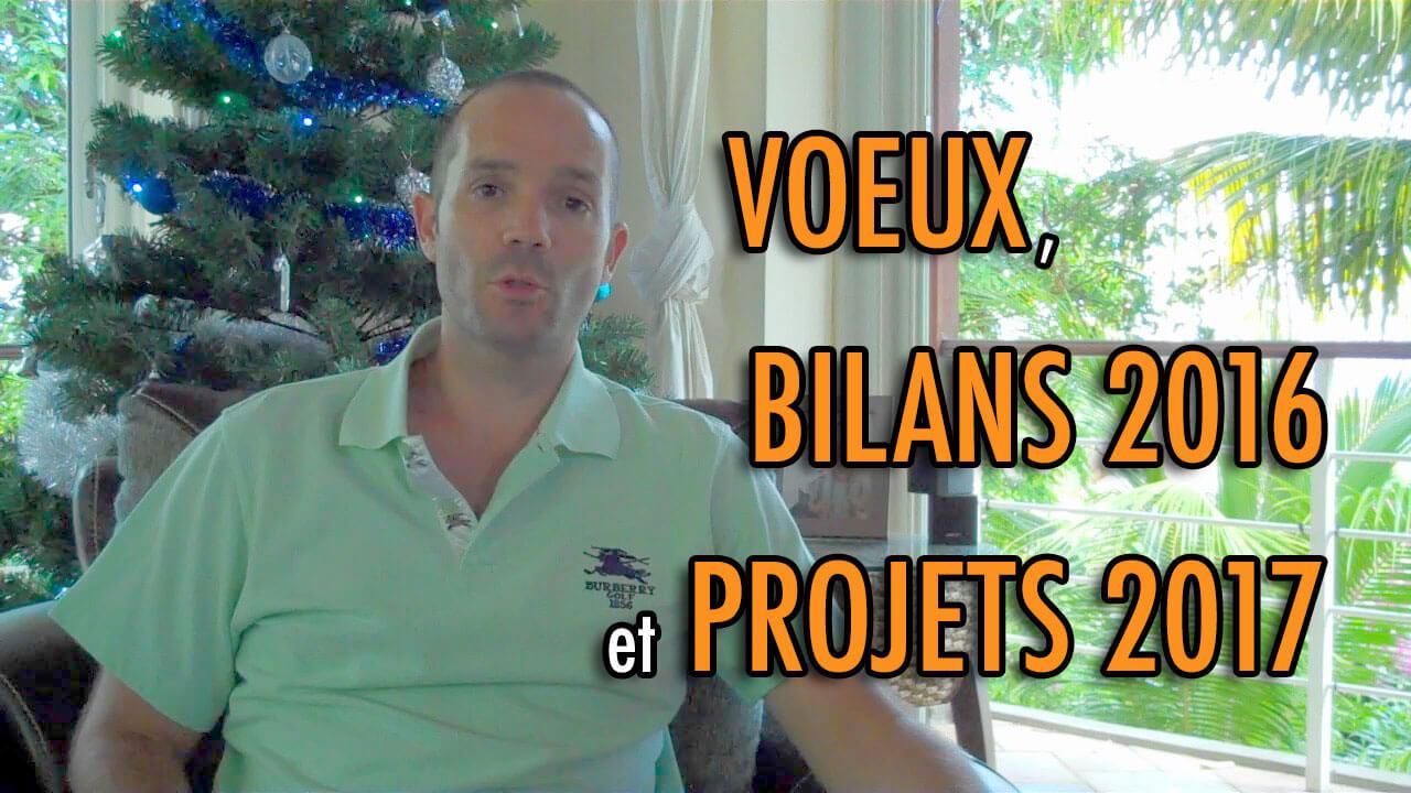 Voeux, bilans 2016 et projets 2017