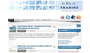 """Blog """"Le blog du trading"""""""