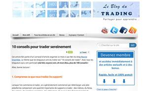 Le blog du trading