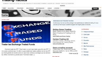 """Blog """"Trading tactics"""""""