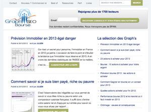 """Blog """"Graphseo Bourse"""""""