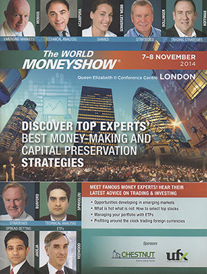 Le salon World MoneyShow à Londres (2014)