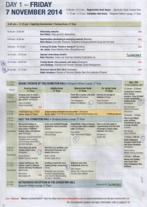 World MoneyShow - Programme du jour 1
