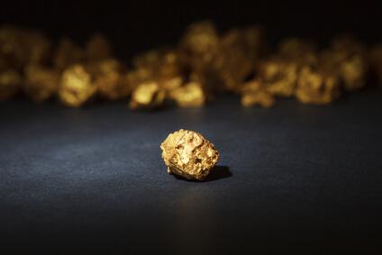 Se réfugier vers l'or