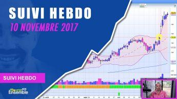 Suivi Hebdo au 10 novembre 2017