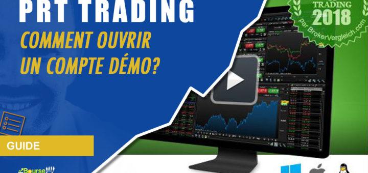 Comment ouvrir un compte Démo chez PRT Trading