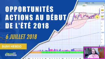 Les quelques opportunités actions au début de l'été (Suivi hebdo bourse 6 juillet 2018)