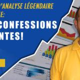3 types d'analyse légendaire en bourse: mes confessions gênantes!