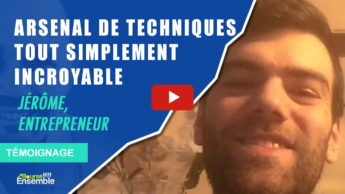 Jérôme, Entrepreneur: Arsenal de techniques incroyables en bourse (Témoignage formation GeBS)