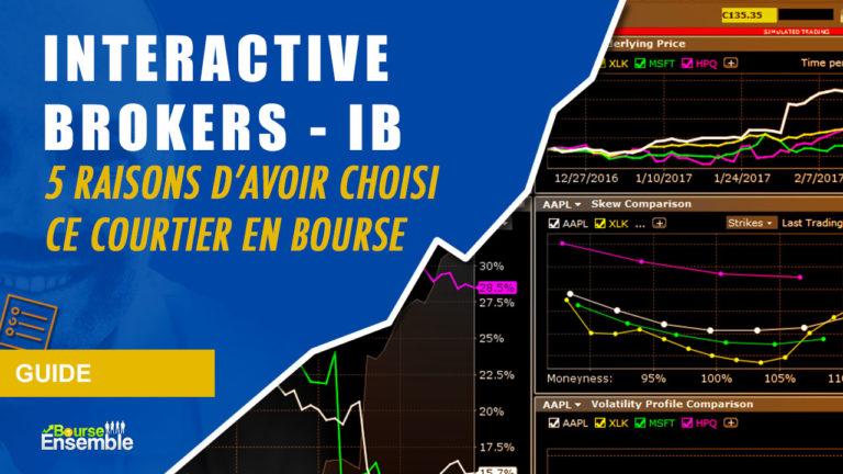 INTERACTIVE BROKERS IB: 5 Raisons d'avoir choisi ce courtier en bourse